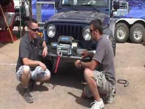 Ramsey Winch New Patriot 9500 UT Jeep Install Moab EJS ORC on