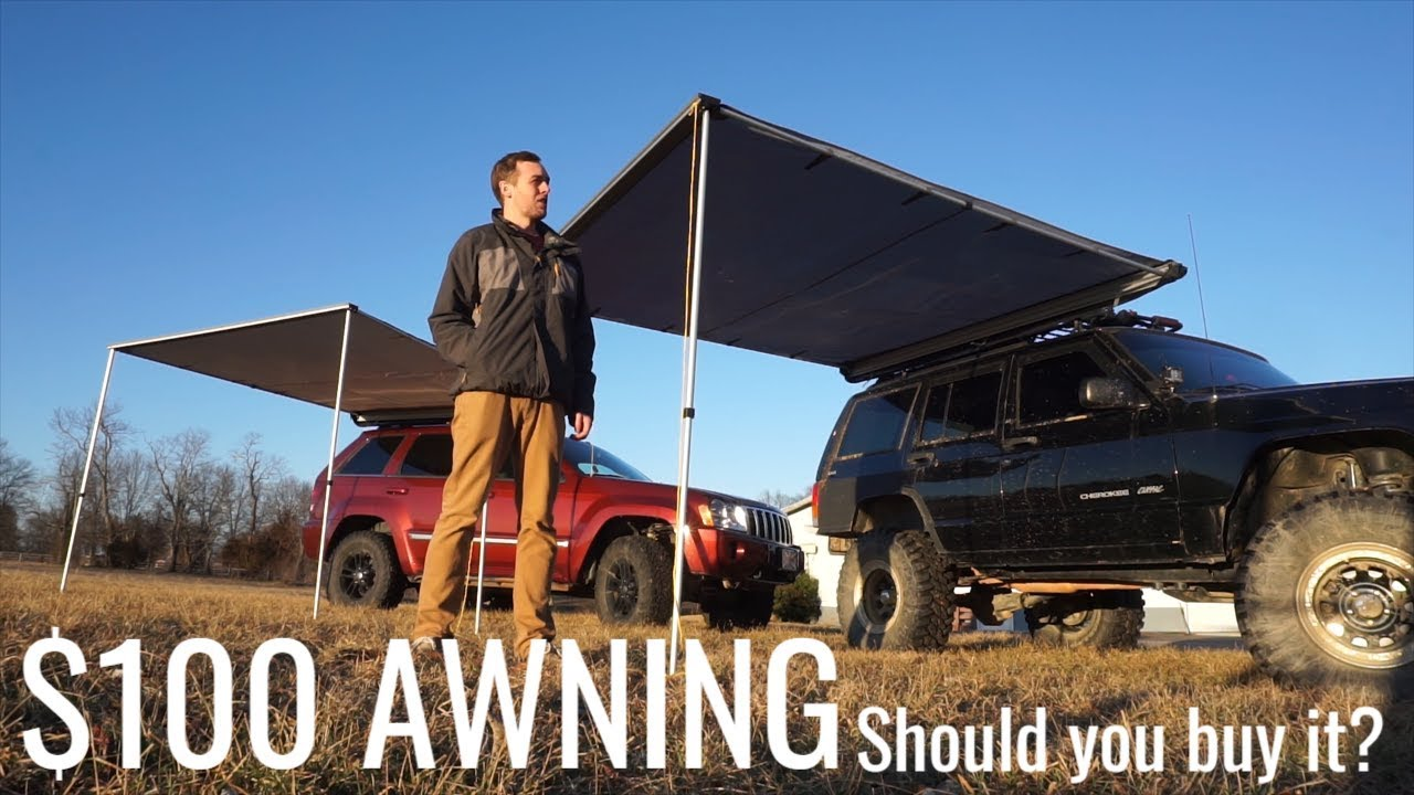 Should you buy a $100 awning? - YouTube