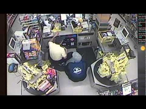 Raw Video From Redwater, TX Dollar General Armed Robbery