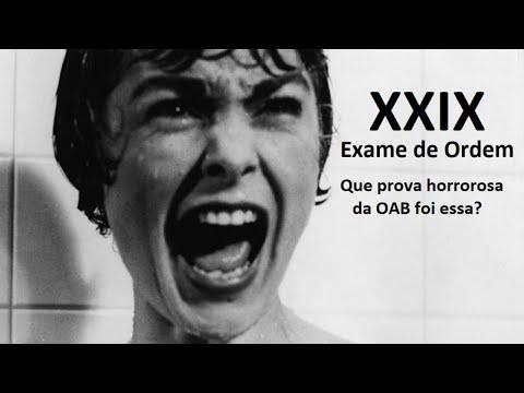Download XXIX Exame de Ordem: Que prova horrorosa foi essa?