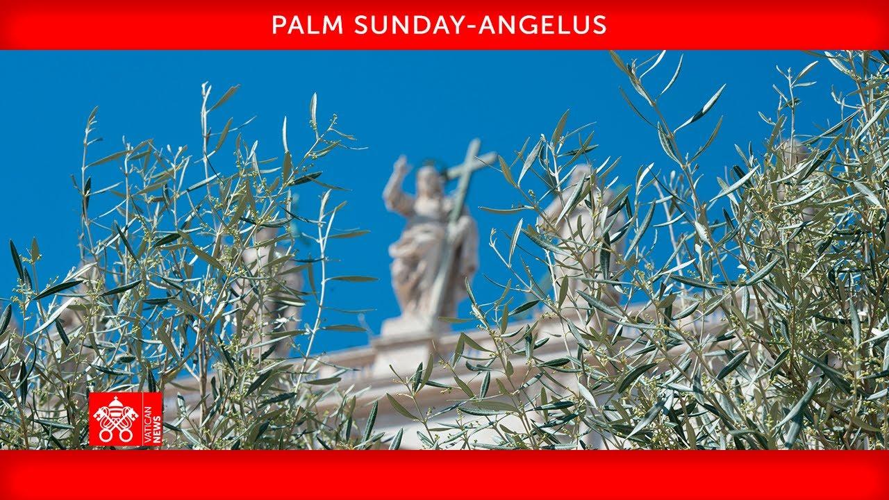 Pope Francis' Palm Sunday Mass Live Stream 2021