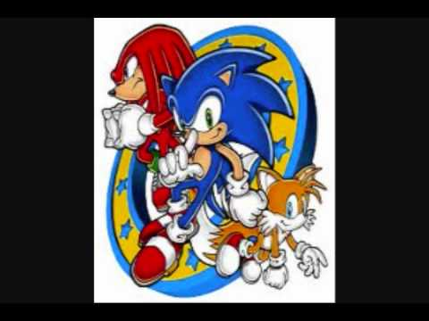 Sonic Mega Collection Extras Menu 2011 (Silent D Remix) (90s Timbaland Style)