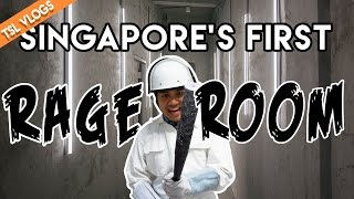 The Fragment Room - SINGAPORE'S FIRST RAGE ROOM! | TSL Vlogs