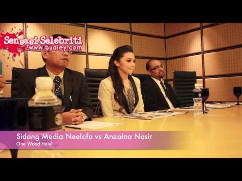 Sidang Media Neelofa Vs Anzalna Nasir