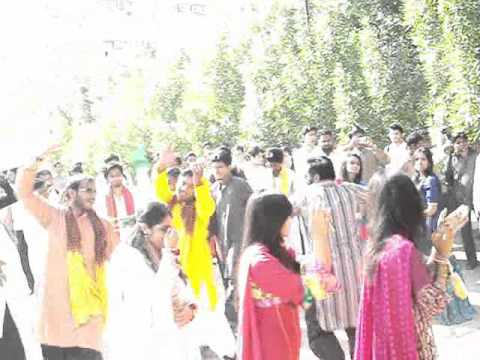 Dhool day (Dance part) 2008 batch Biomedical Engineering Sir Syed University