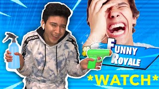 CRAZY KID GOES PSYCHO ON Fortnite Battle Royale THINGS GET NASTY