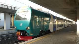 ローマ近郊鉄道FR1線 オスティエンセ駅 Lazio Regional Railways FL1 Roma Ostiense Station