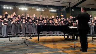 CT All-State Treble Choir 2019 - Cradle Hymn (Kim Andre Arnesen)
