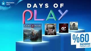 Days of Play | İndirim Günleri - PlayStation Store Fırsatları