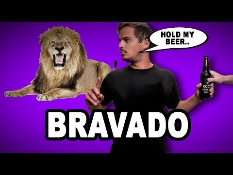 💪 Learn English Words: BRAVADO - Meaning, Vocabulary with Pictures and Examples