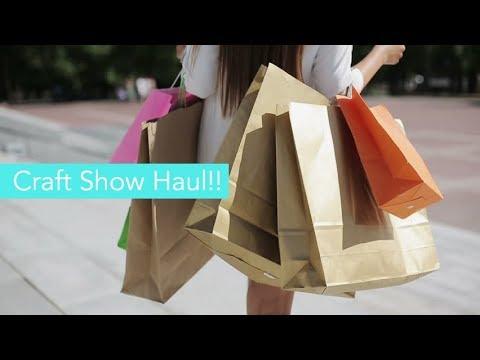 Birmingham NEC Craft Show Haul..