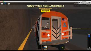 First Video| Roblox | Transit | Driving A GCT Halloween Train In STSR
