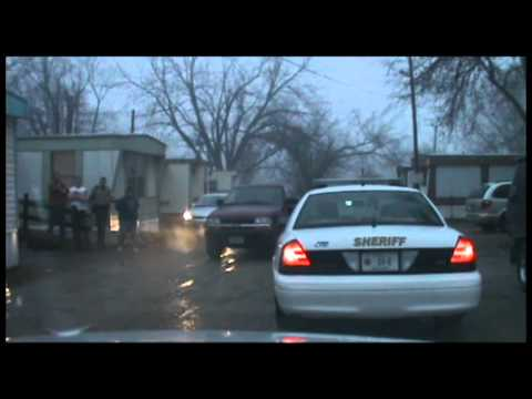 Dash Cam: Jan. 27 High Speed Pursuit in Centerville, Iowa