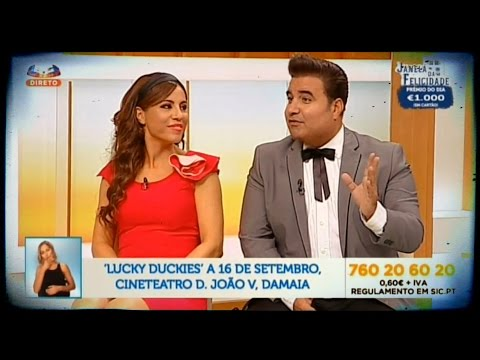 "Lucky Duckies @ ""Grande Tarde"" da SIC (13-09-2016)"