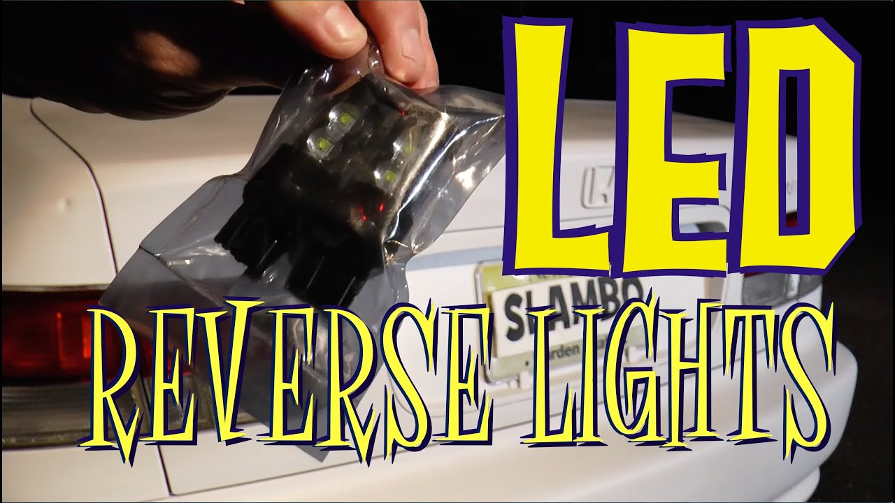 small resolution of led backup lights d i y reverse light install part 1