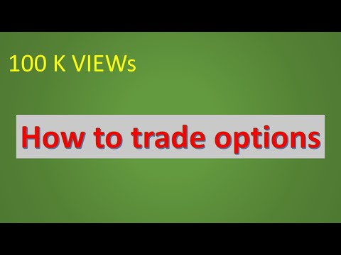 What is option trading and How option trading start   (hindi)  introduction and basic