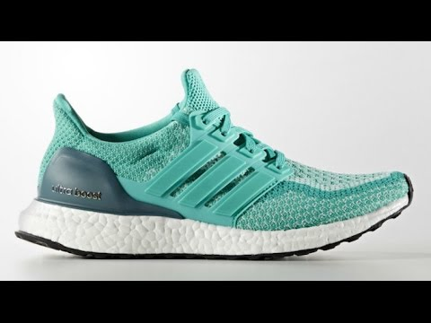 ed51c543c adidas Ultra Boost Shock Mint Ice Mint-Tech Green - YouTube