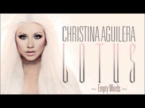 Christina Aguilera - Empty Words [Lyrics] Full Song