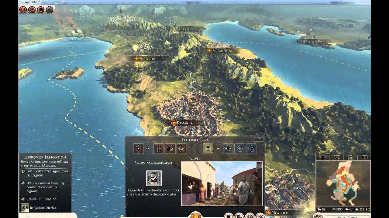 Total War: Rome 2 - Walkthrough & cheats - Chapter 1 - YouTube