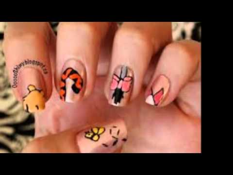 Nail Art Designs For Kids Latest 2014 Images Youtube