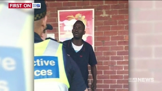 Nine News. African Attempts Hijacking of Tradie's Car In Footscray.
