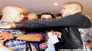 Wilfredo Vazquez Jr VS. Juanma Lopez FACE OFF at the Final Press Conference!! (RAW & UNCUT)