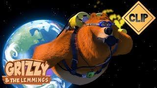 Grizzy & Lemmings вилітають в космос - Grizzy & Lemmings
