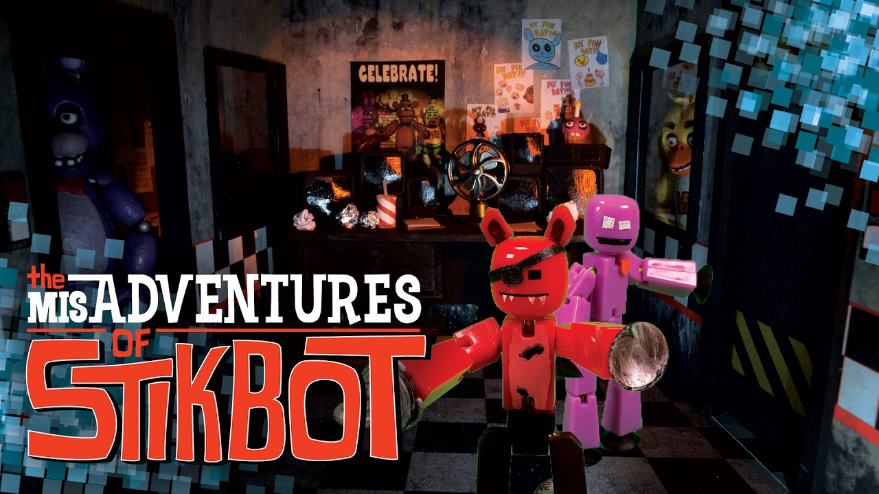 Download The MisAdventures of Stikbot 🎭 | Five Nights at Stikbot's (S1 Ep. 4)