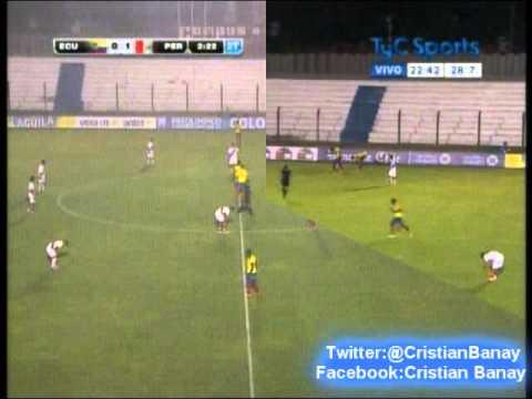Peru 2 Ecuador 0  (Cx12 Radio Oriental) Sudamericano Sub 20 2015