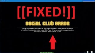 GTA V has stopped working & social club error [FIXED] // A very simple way.