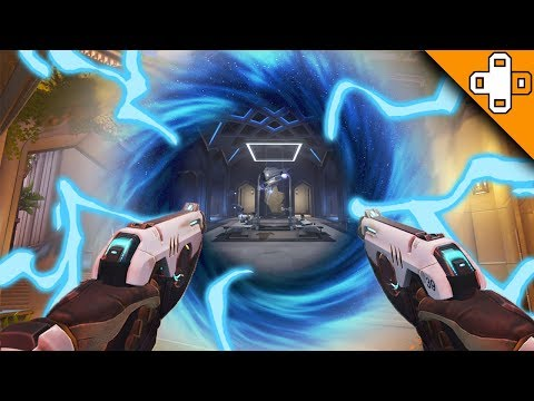 GRANDMASTER TRACER PLAYS! Overwatch Funny & Epic Moments 427