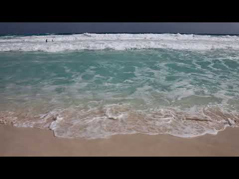 Waves At Mexico Beach | White Sand | Windy | 2018