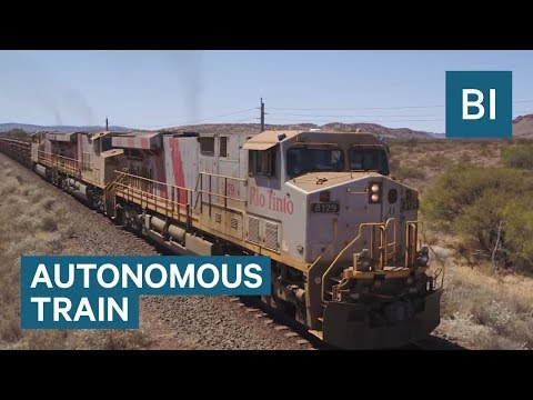 This Fully Autonomous Train Completed A Successful Run In Australia