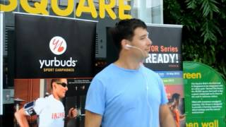 Take the Challenge with yurbuds Sport Earphones (Singapore Version)