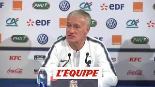 Deschamps «Je ne m'attends pas à une équipe allemande démobilisée» - Foot - Bleus