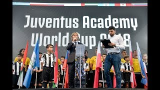 Juventus academy world cup opening ceremony