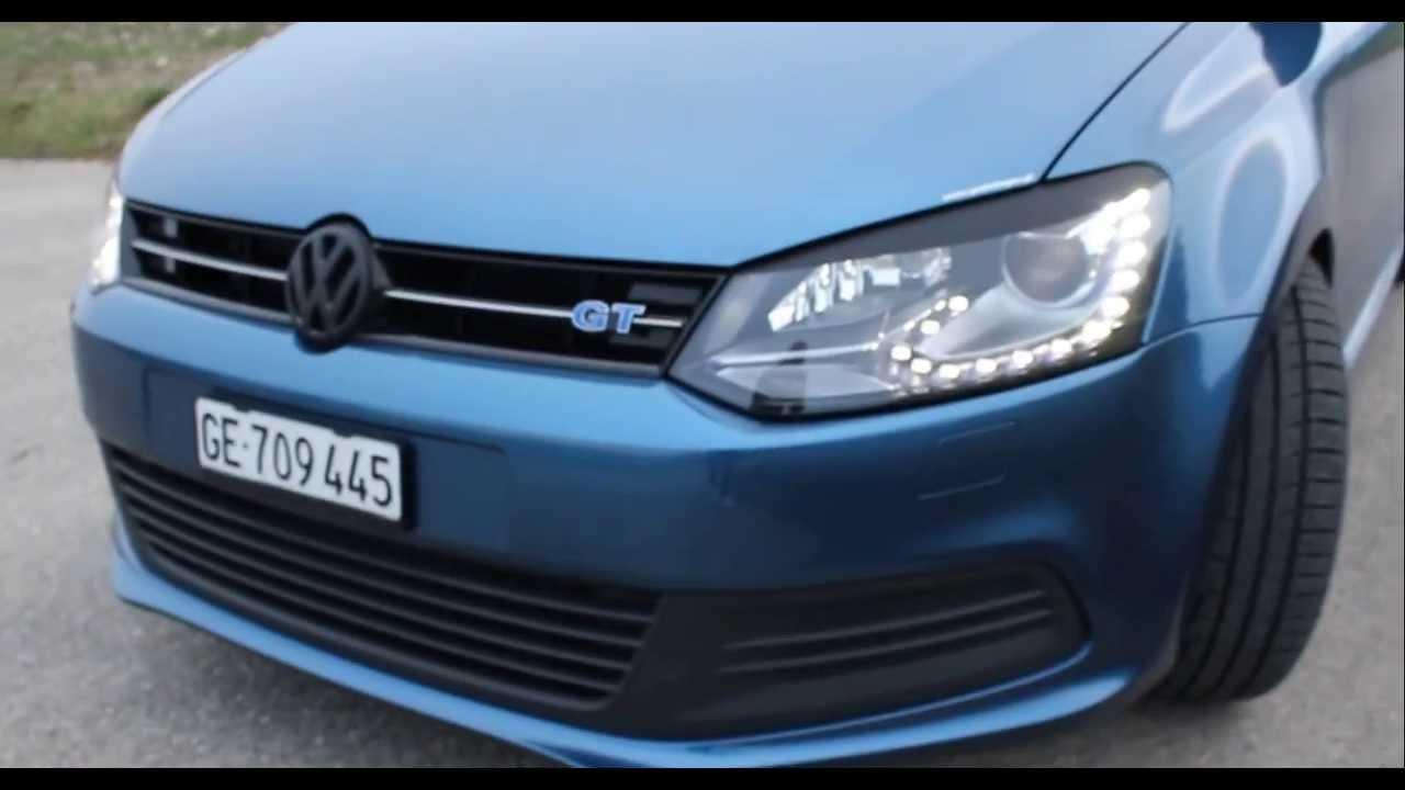 volkswagen polo 6r bluegt youtube. Black Bedroom Furniture Sets. Home Design Ideas