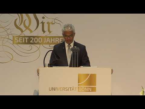Oberbürgermeister Sridharan: Bonn ist von seiner Uni geprägt - 200 Jahre Uni Bonn