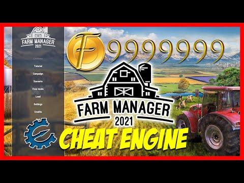 Farm Manager 2021 Cheat Engine 🔴