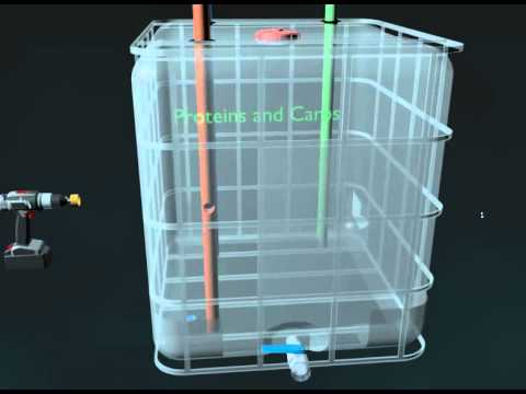 How to Build a Solar CITIES IBC Based Biogas System -- installing the pipes and plumbing