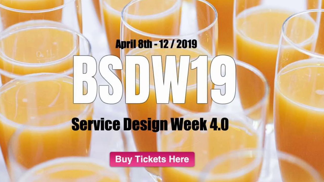 Service Design Week 4.0 in Barcelona