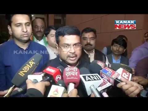 Dharmendra Pradhan Reaction On Manohar Parrikar Dies