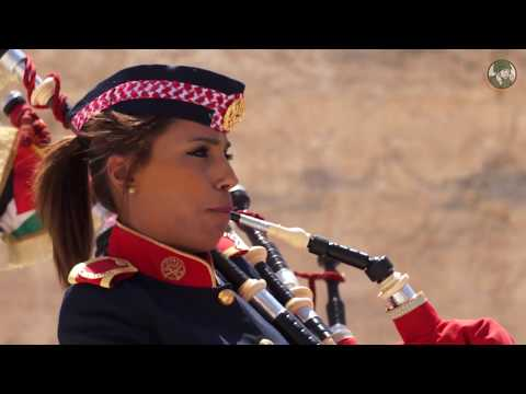 Warrior competition 2018 KASOTC opening ceremony live demo Jordanian special forces