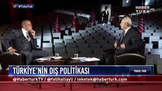 Teke Tek - 21 Eylül 2017 (CHP Genel Başkanı Kemal Kılıçdaroğlu)