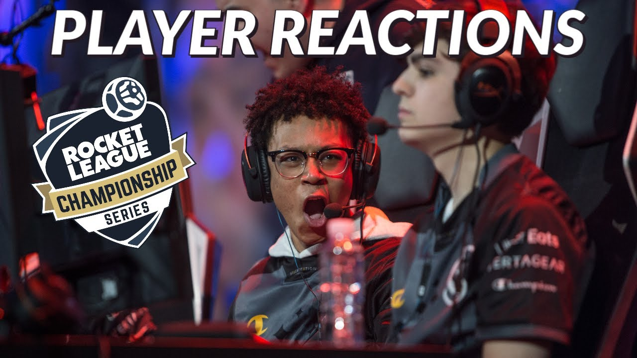 Most Hyped Pro Player Reactions in Rocket League
