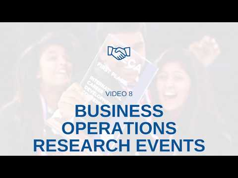 BUSINESS OPERATIONS RESEARCH EVENT TIPS FROM A DECA STATE WINNER!!