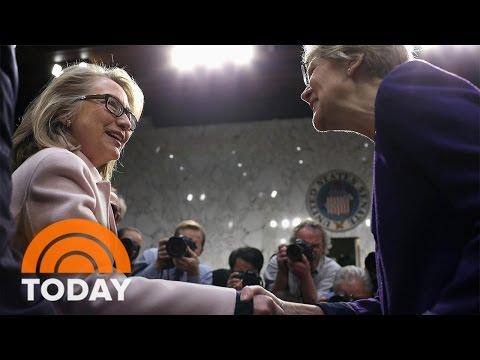 Is Hillary Clinton Considering Elizabeth Warren As Her Running Mate? | TODAY