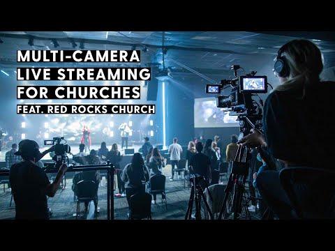 Red Rocks Church Multi-Camera Live Streaming Setup | In-Depth Walkthrough