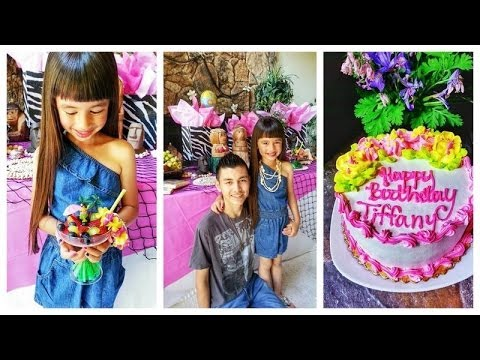 Tiffany S 7th Birthday Party Ideas Youtube