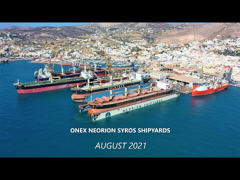 ONEX NEORION SYROS SHIPYARDS - August 2021